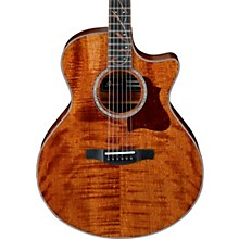 Ibanez AE315FMH Exotic Solid Wood Acoustic-Electric Guitar