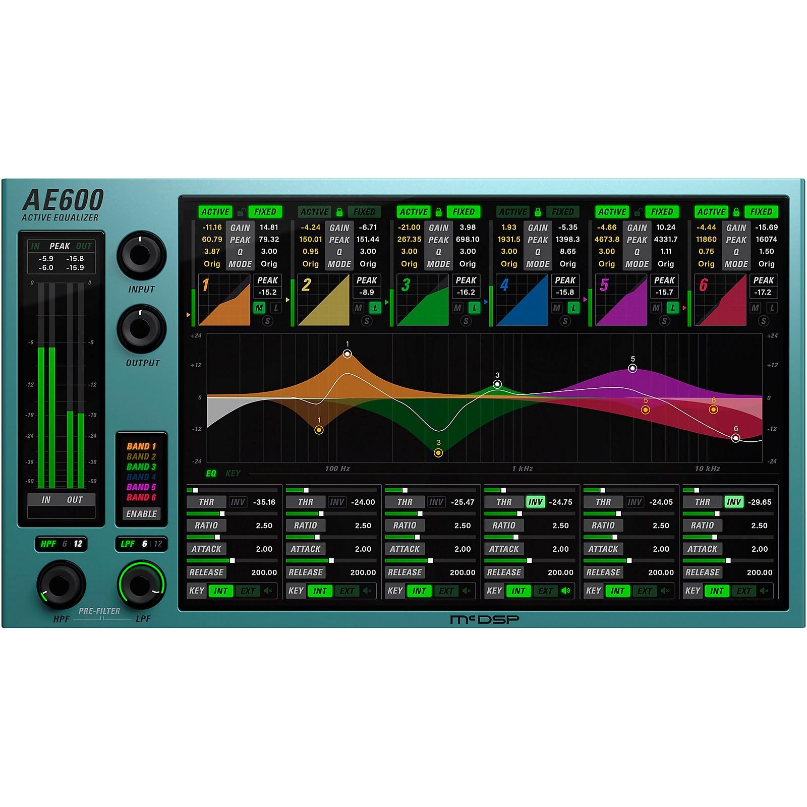 McDSP AE600 Active EQ Native v6