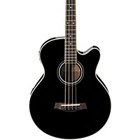 Deals on Ibanez AEB5E Acoustic-Electric Bass Restock Black