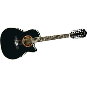 ibanez aef1812e 12 string acoustic electric guitar musician 39 s friend. Black Bedroom Furniture Sets. Home Design Ideas