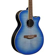 AEG-19II Acoustic-Electric Guitar Aqua Blue