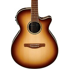 AEG10II Cutaway Acoustic-Electric Guitar Brown Sunburst