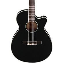 Open BoxIbanez AEG10NII Nylon String Cutaway Acoustic-Electric Guitar