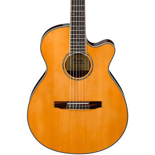 ibanez aeg10nii nylon string cutaway acoustic electric guitar musician 39 s friend. Black Bedroom Furniture Sets. Home Design Ideas