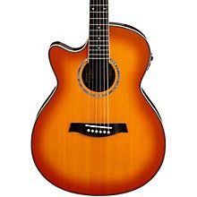 Open BoxIbanez AEG18LII Cutaway Left-Handed Acoustic Electric Guitar