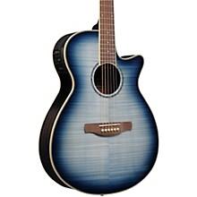 AEG20II Flamed Sycamore Top Cutaway Acoustic-Electric Guitar Blue Burst
