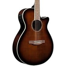 AEG20II Flamed Sycamore Top Cutaway Acoustic-Electric Guitar Tiger Eye