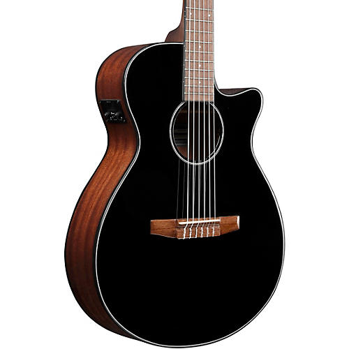 Ibanez AEG50N Acoustic-Electric Classical Guitar Gloss Black