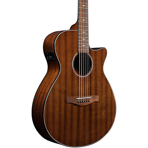 Ibanez AEG62 Grand Concert Acoustic-Electric Guitar Natural Mahogany