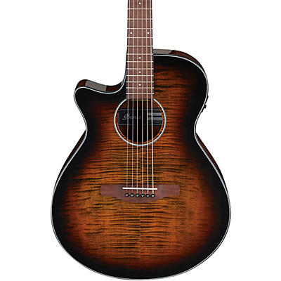 Ibanez AEG70L AEG Left-Handed Grand Concert Acoustic-Electric Guitar