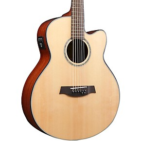 ibanez ael108td nt 8 string double e b acoustic electric guitar musician 39 s friend. Black Bedroom Furniture Sets. Home Design Ideas