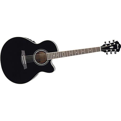 Ibanez AEL10E Cutaway Acoustic-Electric Guitar