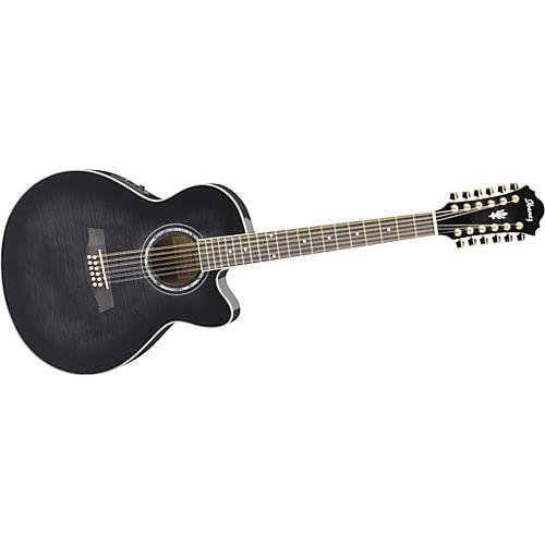 ibanez ael2012etks 12 string cutaway acoustic electric guitar musician 39 s friend. Black Bedroom Furniture Sets. Home Design Ideas