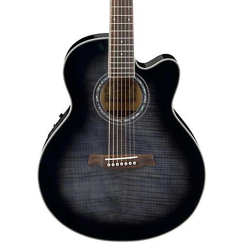 Ibanez AEL207E 7-String Acoustic-Electric Guitar