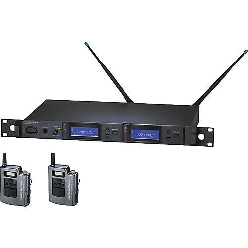 Audio-Technica AEW-5111 Artist Elite Dual Receiver UniPak Wireless System