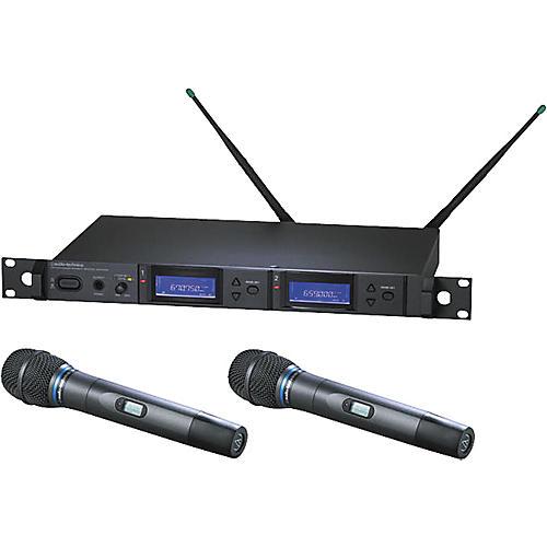 Audio-Technica AEW-5255 Artist Elite Dual Receiver Cardioid Condenser Mic System