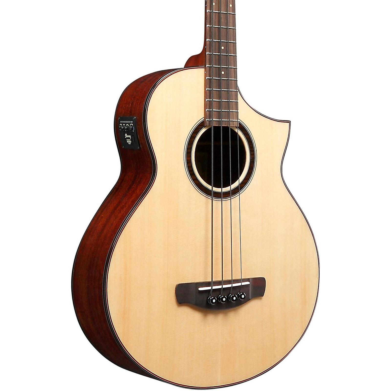 Ibanez AEW Series AEWB20NT Acoustic-Electric Bass Guitar