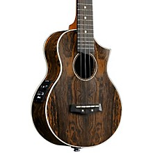 Open Box Ibanez AEW13E Exotic Wood Acoustic-Electric Ukulele