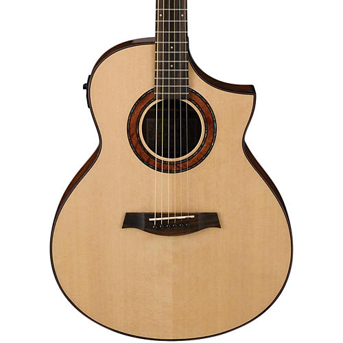 Ibanez AEW23MVNT Movingui Exotic Wood Acoustic-Electric Guitar