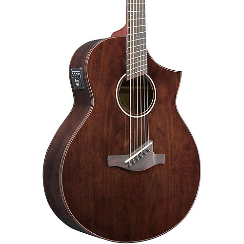 Ibanez AEW40FFCDNT Walnut Multi-Scale Acousitc-Electric Guitar