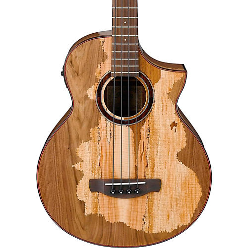 Ibanez AEWB50 Limited Edition Exotic Wood Acoustic-Electric Bass Guitar
