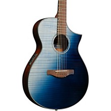 AEWC32FM Thinline Acoustic-Electric Guitar Indigo Sunset Fade