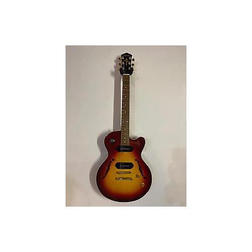 Yamaha AEX 502 Hollow Body Electric Guitar Cherry Sunburst