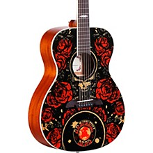 Open Box Alvarez AF60GD Grateful Dead OM Acoustic Guitar