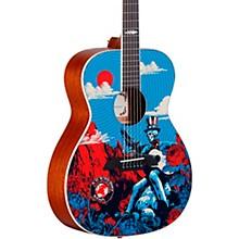 Open BoxAlvarez AF60GD Grateful Dead OM Acoustic Guitar