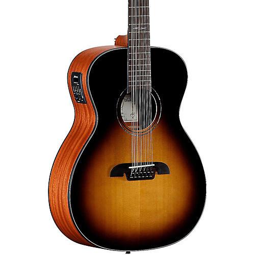 Alvarez AF610ESB 12-String Folk Acoustic-Electric Guitar