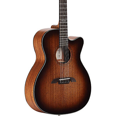 Alvarez AF660CESHB Artist Series OM/Folk Acoustic-Electric  Guitar