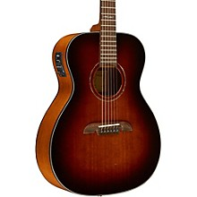 Open BoxAlvarez AF660ESHB OM/Folk Acoustic-Electric Guitar