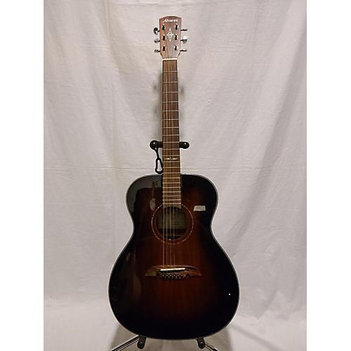 AF660ESHB OM/Folk Acoustic Electric Guitar