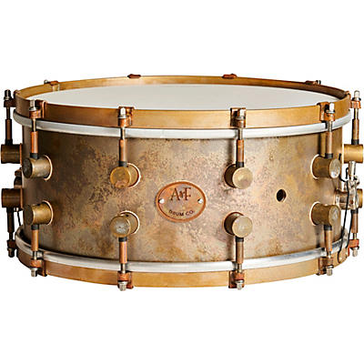 A&F Drum  Co A&Fers Bell Series Brass Snare