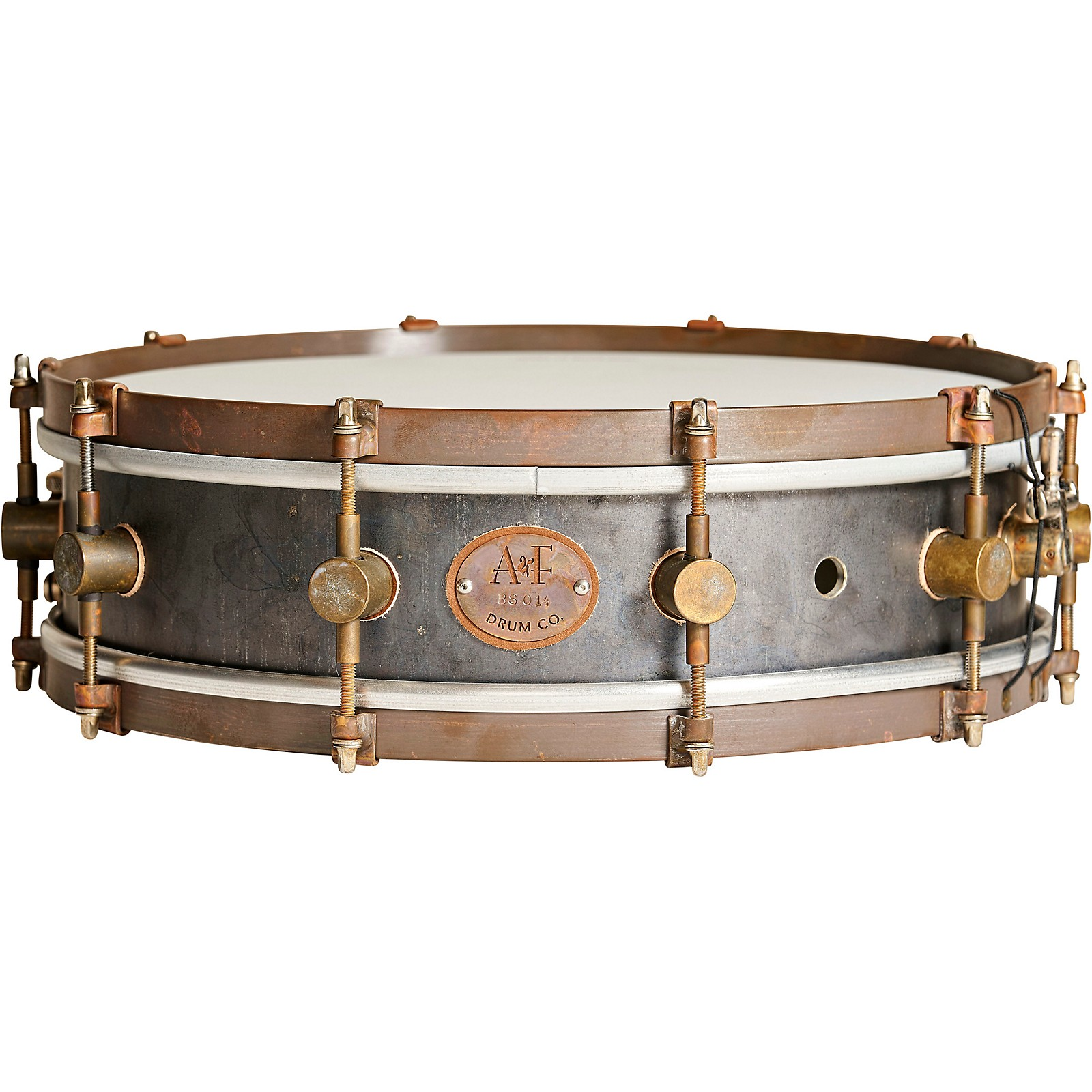 A&F Drum Co A&Fers Bell Series Steel Snare Drum