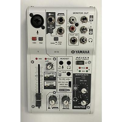 Yamaha AG03 Audio Interface
