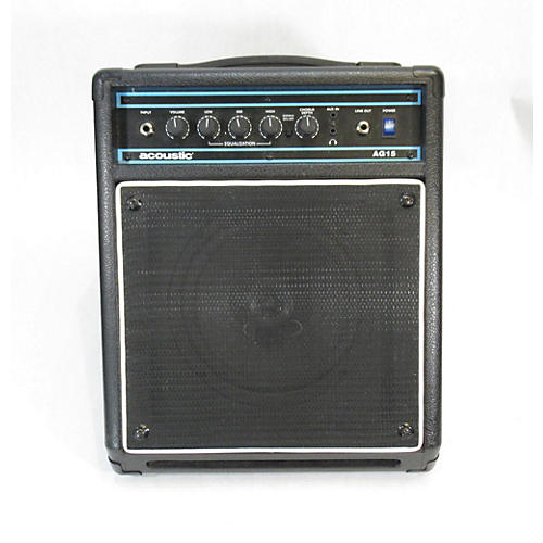AG15 15W 1X8 Acoustic Guitar Combo Amp