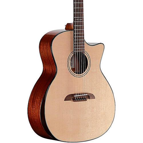 Alvarez AG610CEARB Armrest Grand Auditorium Acoustic-Electric Guitar Natural