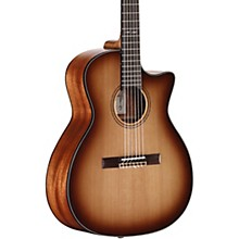 Open Box Alvarez AG610CESHB-N Artist Grand Auditorium Nylon String Acoustic-Electric Guitar
