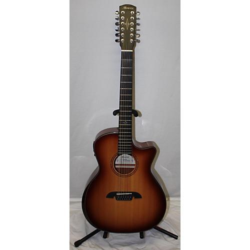 Alvarez AG610ECEAR12SHB 12 String Acoustic Electric Guitar Shaded Edge Burst