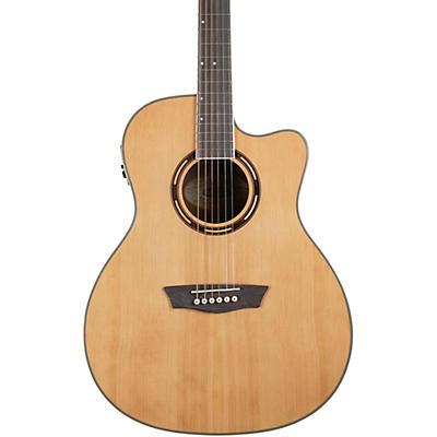 Washburn AG70CE Apprentice Series Grand Auditorium Cutaway Acoustic-Electric Guitar