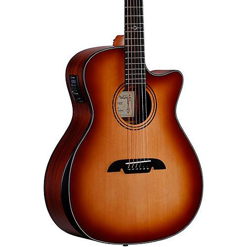 Alvarez AG710CEAR Artist Series Grand Auditorium Acoustic-Electric Guitar Shadow Burst