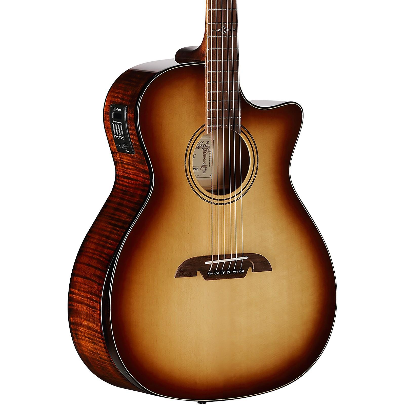 Alvarez AGFM810CEAR Artist Elite Shadowburst Grand Auditorium Acoustic-Electric Guitar