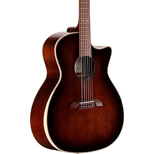 Alvarez AGW770CEAR 6 String Acoustic Electric Guitar Condition 1 - Mint Shadow Burst
