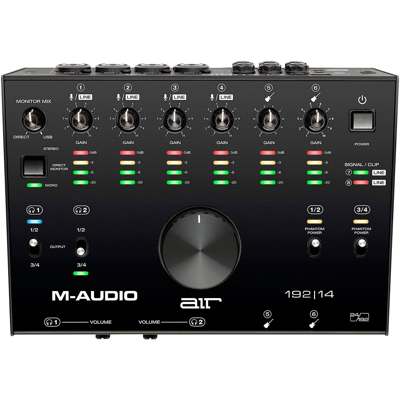 M-Audio AIR 192 14 USB C Audio Interface