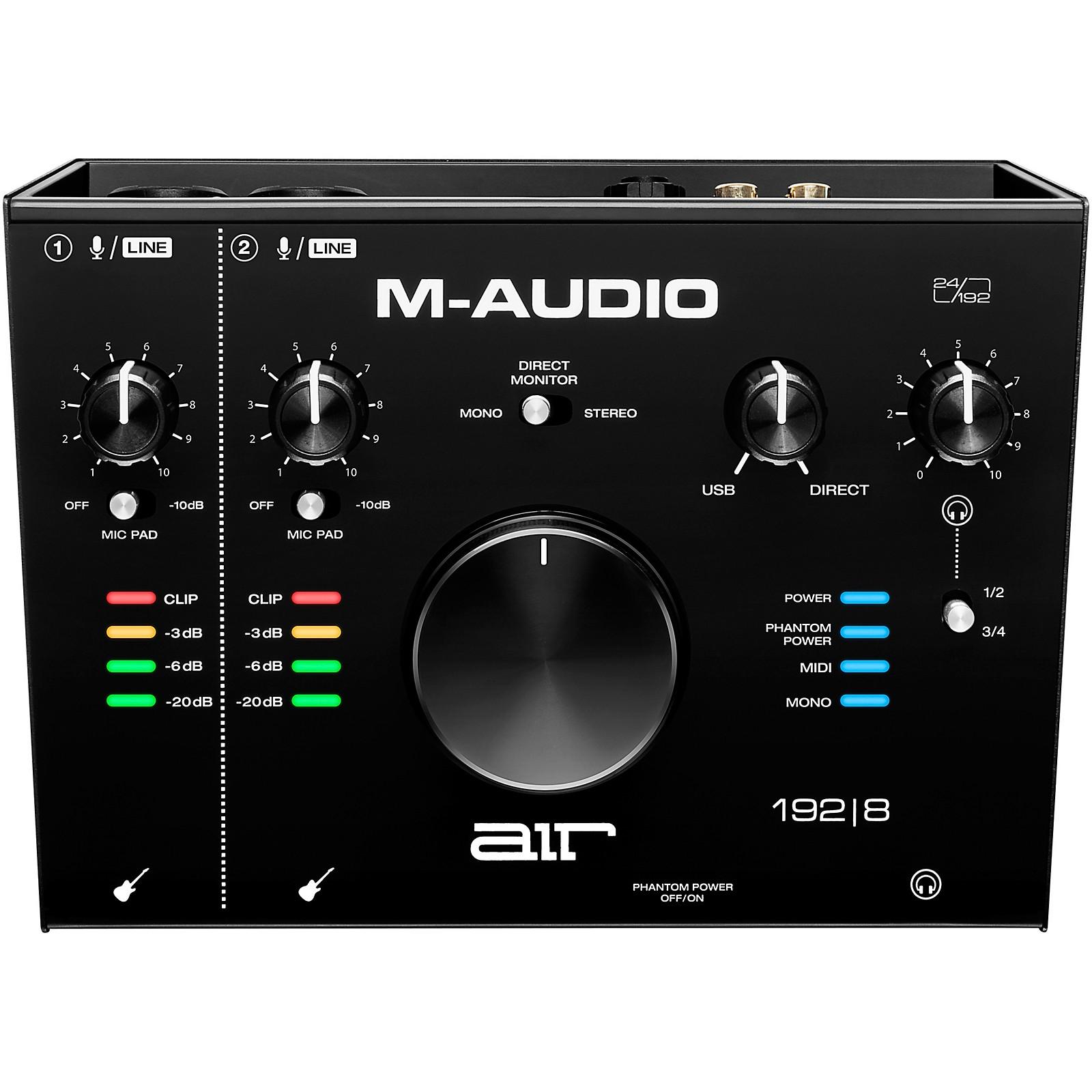 M-Audio AIR 192 8 USB C Audio Interface