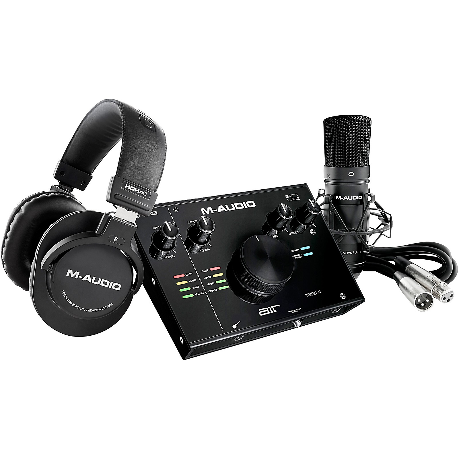 M-Audio AIR 192|4 Vocal Studio Pack