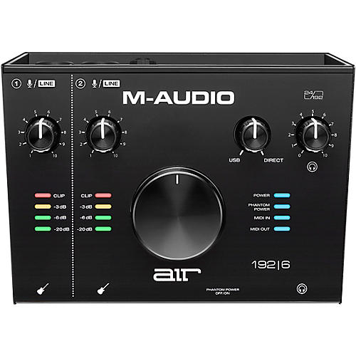 M-Audio AIR 192|6 USB C Audio Interface
