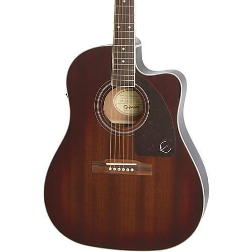 Epiphone AJ-220SCE Acoustic-Electric Guitar Mahogany