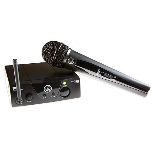 AKG AKG WMS40 Mini Single Vocal Set Wireless Microphone System Band C